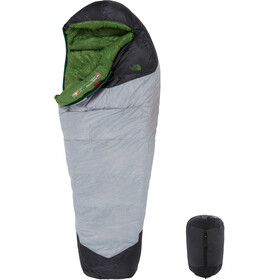 The North Face Green Kazoo Sleeping Bag regular high rise grey/adder green